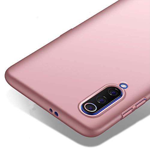 "Richgle Funda Xiaomi Mi 9, Oro Rosa Ultra Slim Protectora Funda Case Duro Cover para Xiaomi Mi 9 (6.39"") RG00385"
