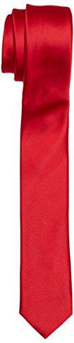 BlueBlack Pietro-Cravatta Uomo,    Rot (knallrot 25) taglia unica