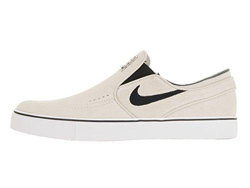 Nike Herren Zoom Stefan Janoski Slip Skaterschuhe Light Bone/Black White Black