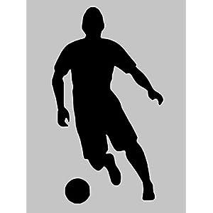 Aufkleber Fussball Nr. 7