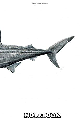 Notebook: Basking Shark , Journal for Writing, College Ruled Size 6