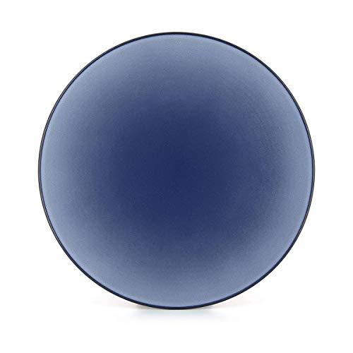 Visiodirect Lot de 2 Assiettes Plates Equinoxe Cirrus - 31 cm