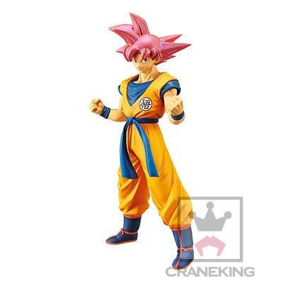 Banpresto. Dragon Ball Super Broly Figure Son Goku SSJ God Chokoku Buyuden Figure Ahora Disponible!
