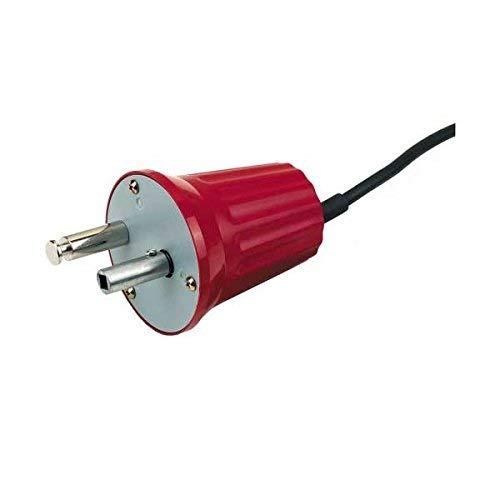 GrillChef 0272 Elektro-Grillmotor für Spiessgarnitur 220 -240 V, Rot