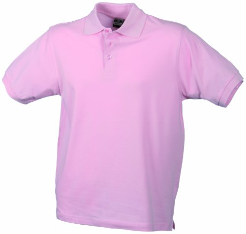James & Nicholson Herren Poloshirt Rose