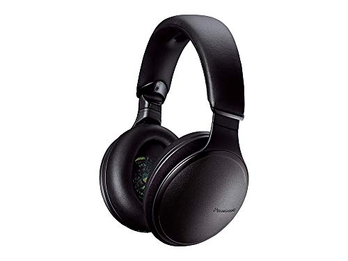 Panasonic RP-HD605NE-K Auricular Circumaural Diadema Negro - Auriculares (Circumaural, Diadema, Inalámbrico y alámbrico, 4-40000 Hz, 1,2 m, Negro)