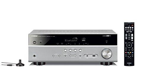 Yamaha AV-Receiver RX-V485 MC titan – Netzwerk-Receiver mit 5.1 Music Cast Surround-Sound - für die perfekte Heimkino-Unterhaltung – Kompatibel mit Alexa Sprachsteuerung - Netzwerk Av-receiver
