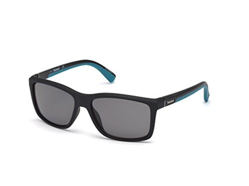 Occhiali da sole polarizzati timberland tb9115 c57 05d (black/other / smoke polarized)