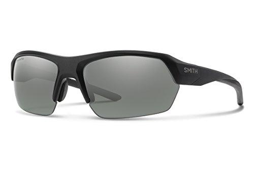 Smith Optics Sonnenbrillen Tempo Matte Black/CHROMAPOP Polarized Platinum Unisex