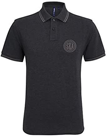 EBUK Ska Music Northern Soul Casual Mod Mens Premium Polo Shirt Unofficial