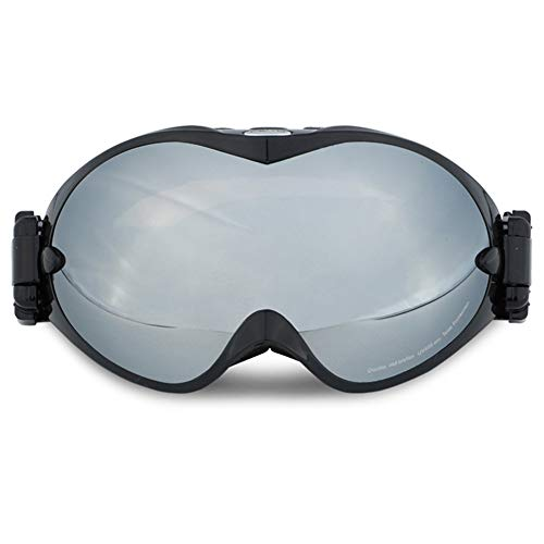 ZYSMC Doble Gafas De Esquí, Gafas De Alpinismo Anti-Niebla Al Aire Libre De La Miopía Tarjeta De Un Solo Y Doble Bordo Gafas para Adultos,5