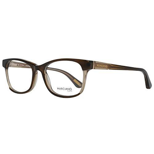 Guess Damen by Marciano Brille Gm0288 53047 Brillengestelle, Braun, 53