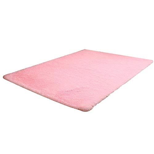 YWLINK Flauschige Teppiche Rutschfester Teppich Esszimmer Wohnzimmer Schlafzimmer Home Teppich Bodenmatte Bettvorleger Sofa Matte