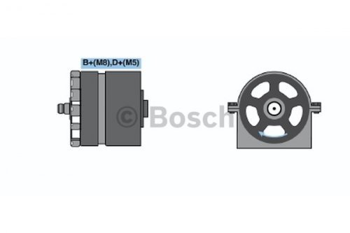 Preisvergleich Produktbild BOSCH 0986039870 Generator