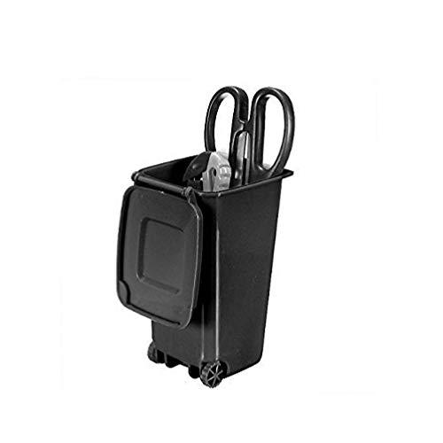 Gamloious Mülleimer und Recycling Mini Storage Bin Stifthalter (schwarz) -