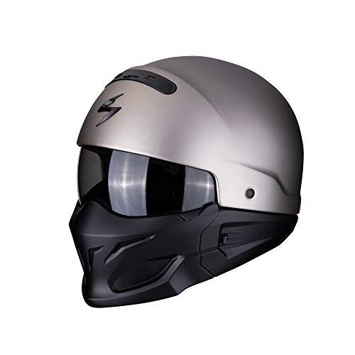 Scorpion Casco moto EXO-COMBAT Solid titanio M