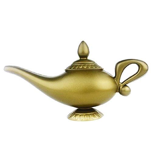 NaiCasy Plastikmodell Aladdins Lampe Cosplay Halloween Requisiten Lampe für Mitbringsel (Kostüm Im Film Bedeutung)