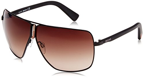 Roberto cavalli - occhiali da sole jc507 aviatore, brown (black)