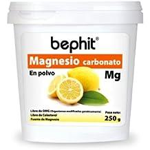 MAGNESIO CARBONATO SABOR CÍTRICO BEPHIT - Polvo bote ...