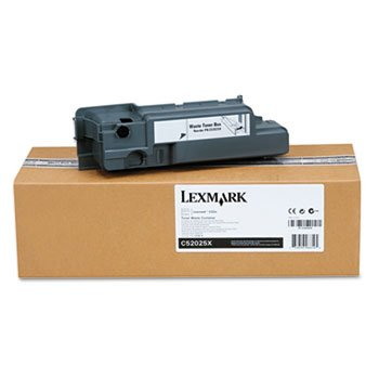 Lexmark C52025X Waste Toner Box for C520/C522/C524, C52x, C53x, 30K Page Yield by Lexmark -