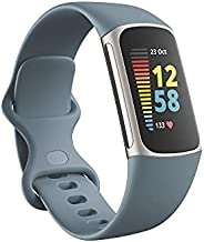 Fitbit Charge 5 Activity Tracker with 6-months Premium Membership Included, up to 7 days battery life, Steel B