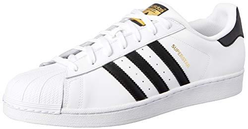 adidas Superstar, Zapatillas de deporte para Hombre, Blanco (Ftwr White/Core Black/Ftwr White),...