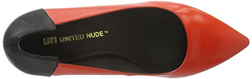 United Nude Damen Suze Pumps Rot (poppy red)