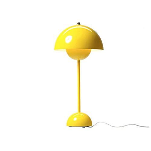 Lampe Verner Panton Flowerpot Lackierte Tischlampe E27 Schreibtischleuchte für Heimtextilien, D