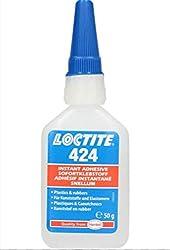 Loctite 424 Sofortklebstoff Kunststoffe und Elastomere niedrige Viskosität 50g