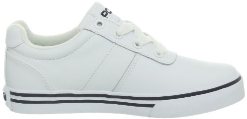 Polo Ralph Lauren Hanford, Jungen Sneakers Weiß (white leather)