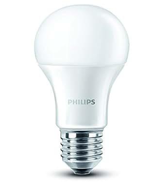 philips ampoule led standard culot e27 95w consomm s quivalent 60w incandescent 2700 kelvin. Black Bedroom Furniture Sets. Home Design Ideas