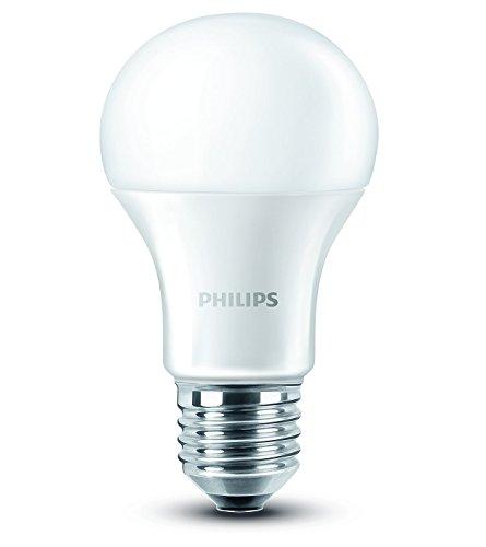 Philips LED Lampe ersetzt 60 W, EEK A+, E27, warmweiß (2700 Kelvin), 806 Lumen, matt, 8718696490860