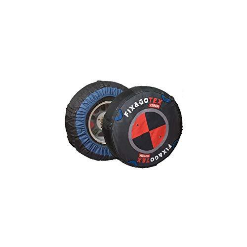Fix&Gotex - Xtrem - Chaines Neige Textile 4X4 - Suv - Fix&Gotex Xtrem - Réf : R1 255/75/16 275/70/16 275/65/17 275/60/18 275/55/19 275/50/20 285/50/20