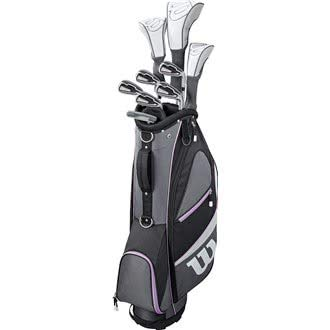 en X31 Complete Graphite Shaft Package Set Stand Bag - RH Graphite Stand Bag Black/Grey/Purple ()