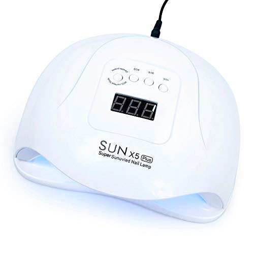 72W Lámpara Uv Sun X5 Plus Led Secador De Uñas Para