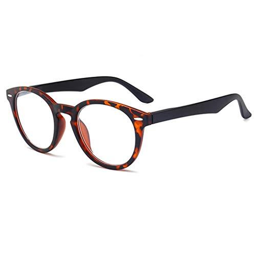 Anti-Müdigkeit Computer Lesebrillen Damen Herren Federscharnier Transparent Brille Augenoptik Lesehilfe Sehhilfe Arbeitsplatzbrille