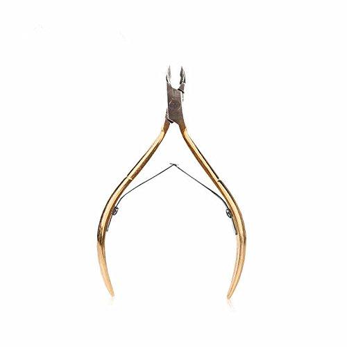 Generic Häutchenquetschwalze Zangenmessernagelkunstscherer-Maniküre-Pediküre-Trimmer-Tool