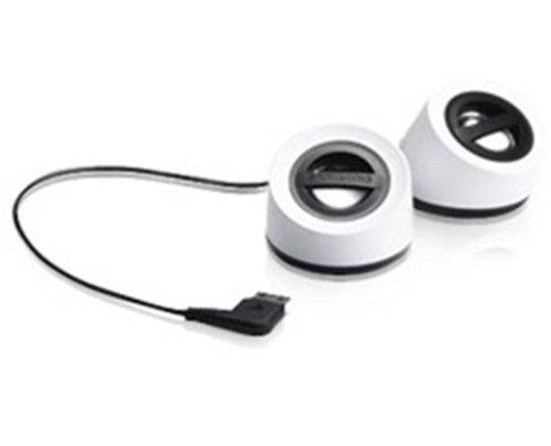 Samsung aasp700swecstd Mini Lautsprecher + Tasche Reise-für Handy m20pin weiß Samsung 20 Pin