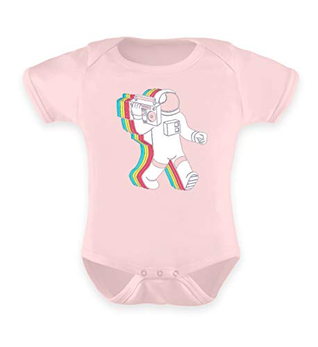 Shirtee Company for Auto Tests №1 - Baby Body -0-6 Monate-Puder Rosa