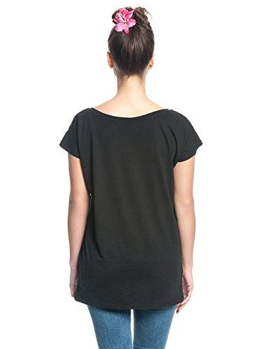 Lilo & Stitch Hang Loose Girl-Shirt Schwarz Schwarz
