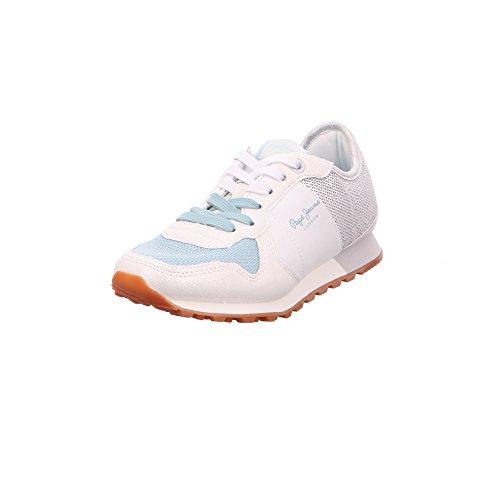 Pepe Jeans Londra Damen Verona W Paillettes Sneaker Silber (argento)