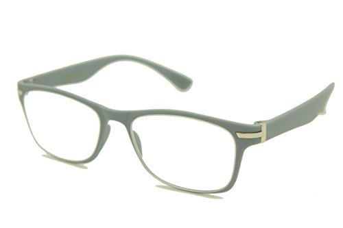 1c5db9cb6e43 COLOR VIPER ColorViper Flexible Memory Frame reader Unisex lightweight  Reading Glasses 0.74 Oz (matte grey