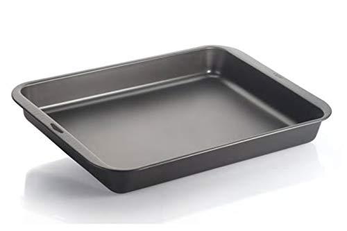 VESPA 931 -Fuente Antiadherente, Rectangular, 43x 30x 5cm, Aluminio, Antracita