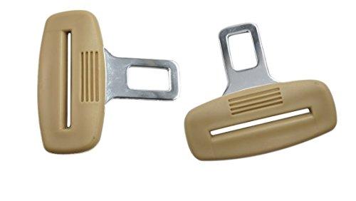 Pentaton Anti Gurtwarner   Gurtalarm Stopper   Sitzalarm   Dummy aus Metall   Kunststoff Griff   in Beige (2er Pack)