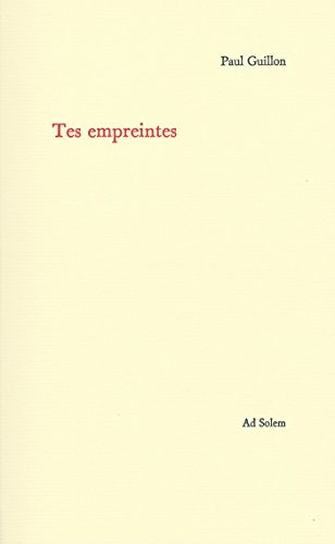 Tes Empreintes [Pdf/ePub] eBook