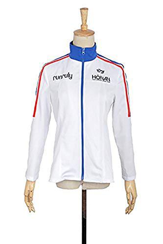 Prince of Stride Schule Riku Yagami Boy Sportswear Jacke Cosplay Kostüm jeder Größe (Riku Cosplay Kostüm)
