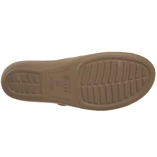Crocs Brune Patricia Perla Bianco Donne Sandali kaki TtTqr1
