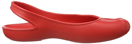 crocsOlivia II Flat - Ballerine Donna Rosso (Flame)