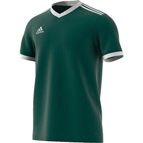adidas Men s Tabela 18 Jersey  Collegiate Green White  X-Large