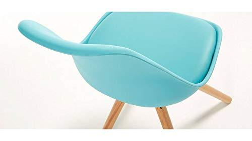 mobilier nitro Chaise Design Louis Bleu x4